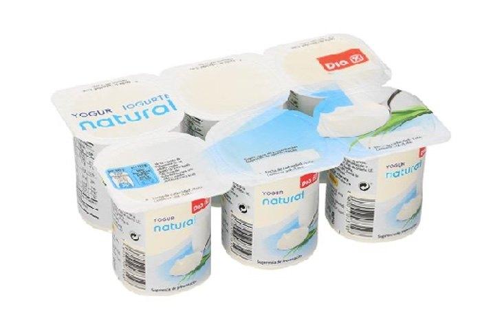 Yogur natural DIA