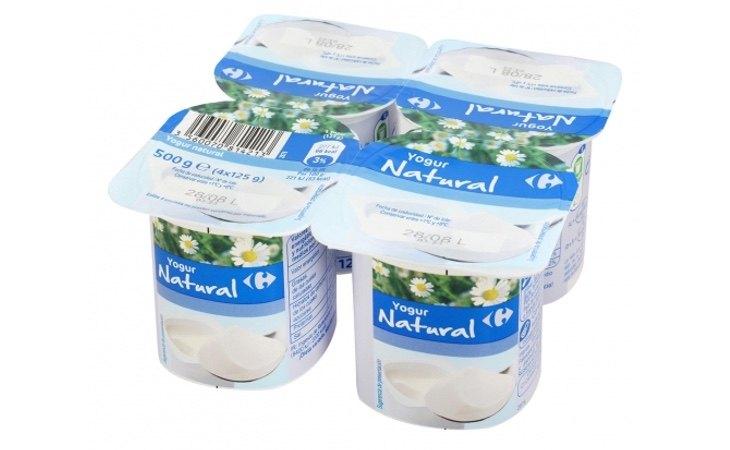 Yogur natural Carrefour