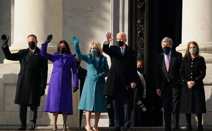 Joe Biden, durante la investidura