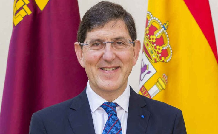 Manuel Villegas, consejero de Salud de la Región de Murcia
