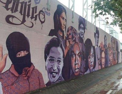 VOX logra, con el apoyo de PP y Ciudadanos, que se elimine un mural feminista de Madrid