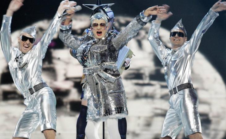 Verka Serduchka quedó en 2ª posición en Eurovisión 2007