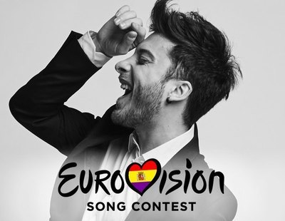 Revuelo en redes: Eurovisión presenta a Blas Cantó con los colores de la bandera de la República
