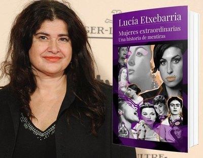 Denuncian a Lucía Etxebarria ante la Fiscalía de Madrid por presunto plagio de su libro 'Mujeres extraordinarias'
