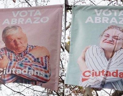 La campaña de Ciudadanos en Cataluña desata las mofas: el partido tira de banco de imágenes