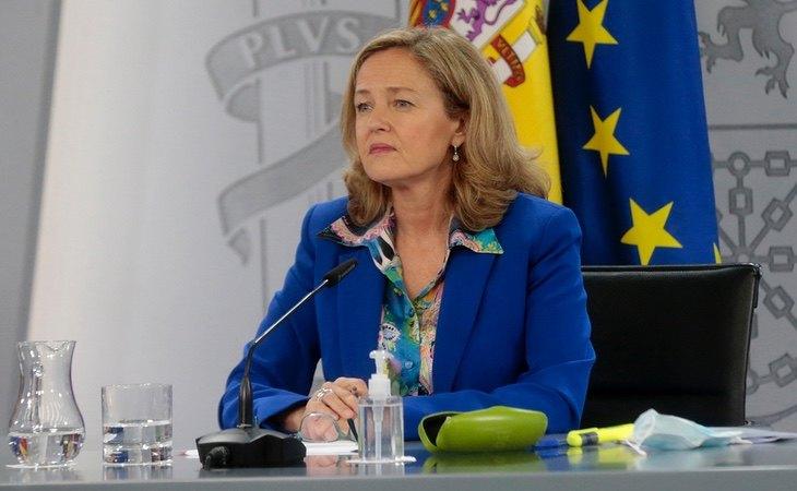 La ministra de Economía, Nadia Calviño, augura una recuperación en 2021