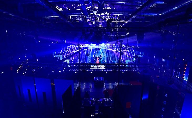 El escenario se encuentra dentro del Annexet, un pequeño pabellón junto al esférico Globen Arena