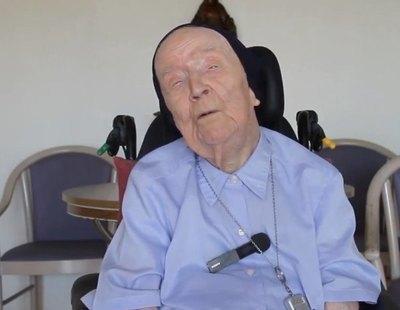 Una monja de 117 años supera el coronavirus completamente asintomática
