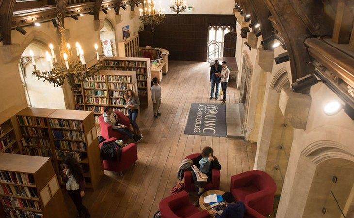 Biblioteca del  UWC Atlantic College