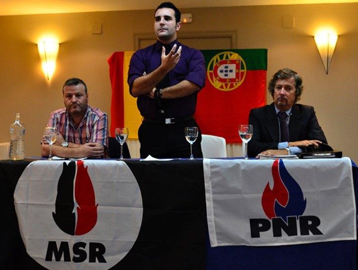 Jordi de la Fuente, en un acto del MSR