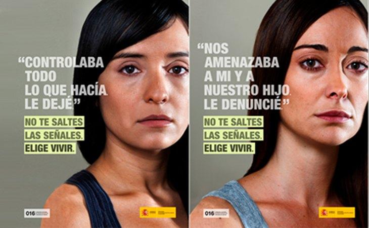 Campaña del Ministerio de Igualdad