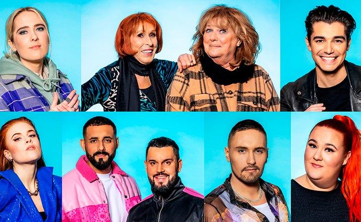 Participantes de la segunda semifinal del Melodifestivalen 2021