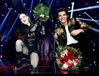 Dotter y Anton Ewald cumplen y avanzan directos a la final del Melodifestivalen 2021