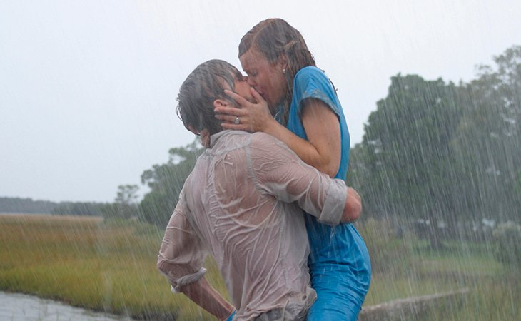 Ryan Gosling y Rachel McAdams protagonizaron 'El diario de Noah'