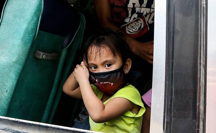 Una niña Filipina. Imagen de ZUMAPRESS.com / Cordon Press