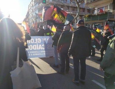 300 neonazis se manifiestan en Madrid en memoria de la División Azul incitando al odio y a incumplir las normas sanitarias