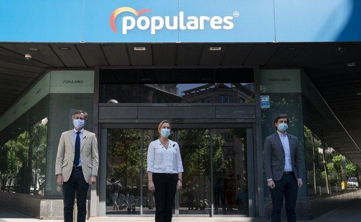 El PP abandona su sede de la calle Génova