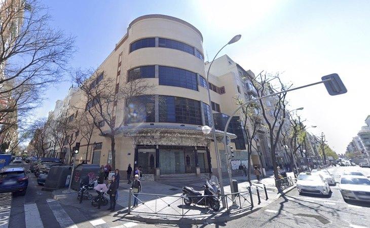 Edificio que ocupará Primark en El Barrio de Salamanca