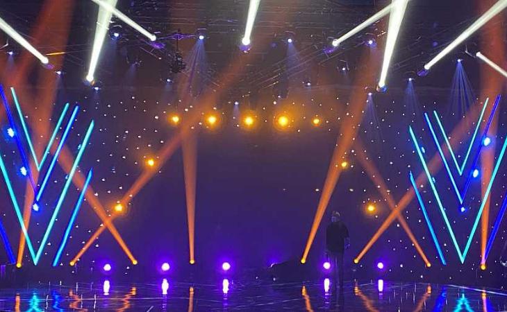 Así luce el plató de 'Destino Eurovisión'
