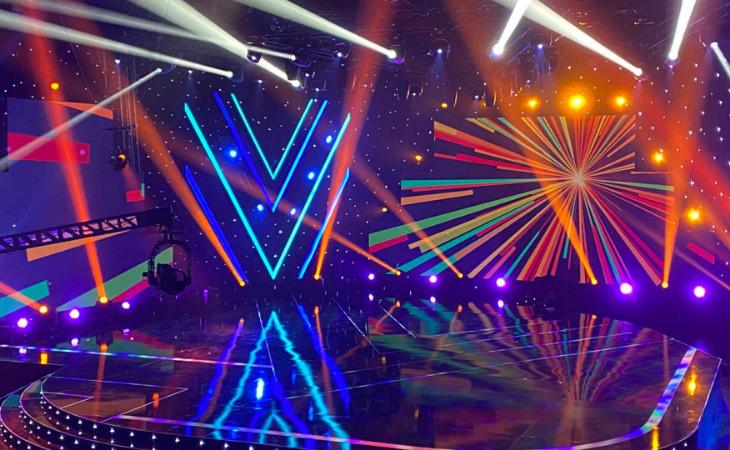 El escenario contará con dos plataformas para las actuaciones