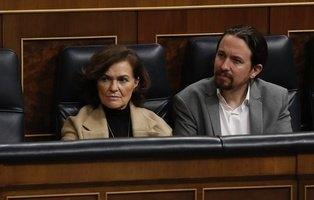 Carmen Calvo defiende que Pablo Hásel entre en prisión y denuncia las protestas violentas