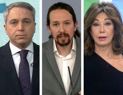 El bulo sobre Pablo Iglesias y Hasél que han difundido Ana Rosa Quintana, Vicente Vallés y Susanna Griso