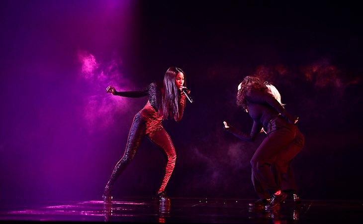 Sabina Ddumba es la co-intérprete de 'Walking On Air', sencillo que forma parte de 'Prism', cuarto trabajo discográfico de Katy Perry. Fuente: Stina Stjernkvist (SVT)