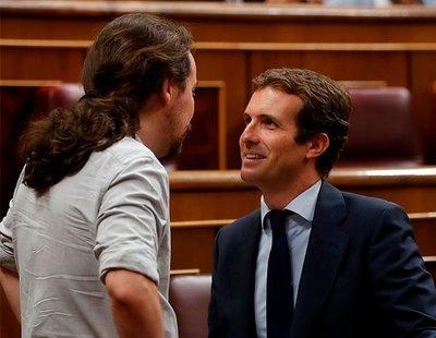 """El PP sugiere ilegalizar Unidas Podemos por """"alentar la violencia"""" en las protestas por Hasél"""