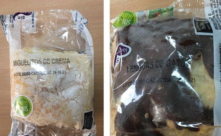 Dos de los productos afectados