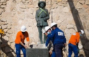 La estatua de Franco en Melilla no era la última: queda otra más del dictador en España