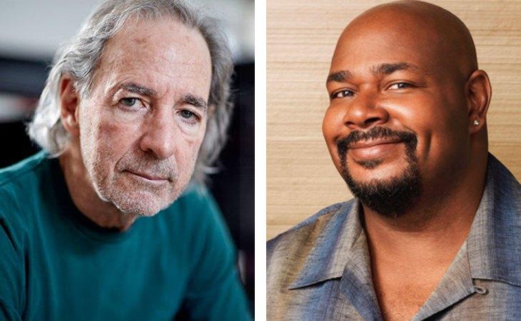Harry Shearer y Michael Richardson, anterior y actual actores de doblaje del Doctor Hibbert de 'Los Simpson'
