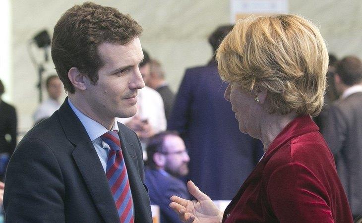 Aguirre fue una de las principales valedoras de Casado durante las primarias