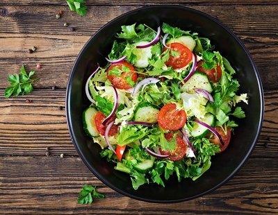 Esto es lo que sucede a tu organismo por comer una ensalada todos los días