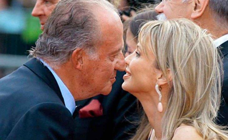 Juan Carlos I y Corinna Larsen utilizaron algunos de estos vuelos privados