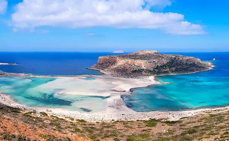 Las increíbles vistas de la playa