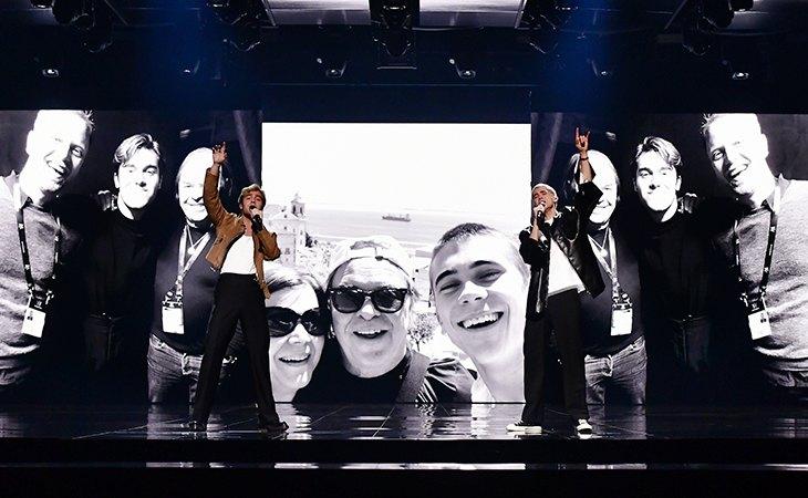Los cantantes Benjamin Ingrosso y Felix Sandman se volverán a encontrar sobre el escenario del Melodifestivalen 2021. Fuente: Stina Stjernkvist (SVT).