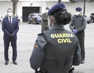 Piden cárcel para una agente de la Guardia Civil por quejarse de que un mando olía mal