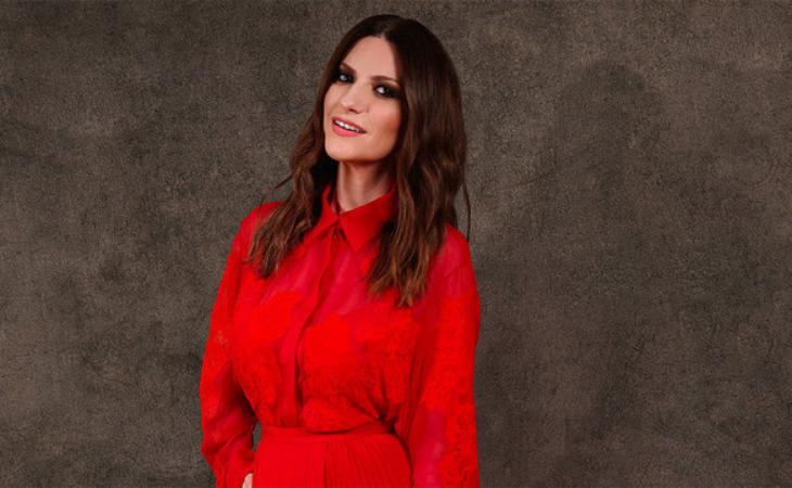 Laura Pausini llegará al Ariston con un Globo de Oro bajo el brazo