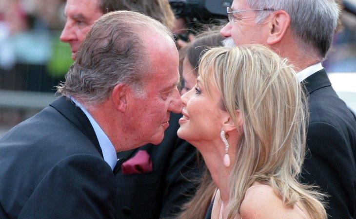 El emérito rey Juan Carlos y Corina Larsen fueron amantes durante varios años