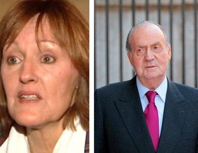 La tía de Letizia pide firmas para retirar el título de rey emérito a Juan Carlos I