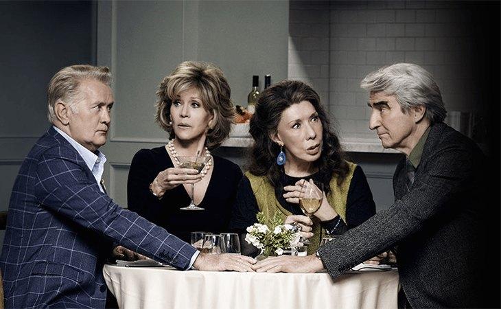 'Grace and Frankie' concluirá con la séptima temporada