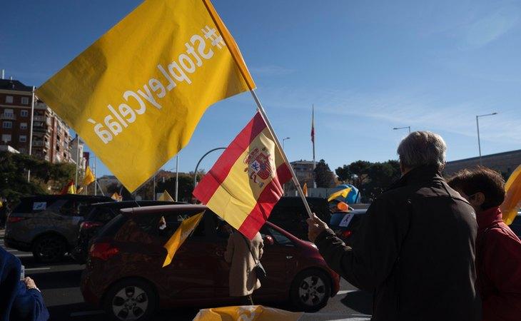 Se convocaron manifestaciones en contra de la Ley Celaá
