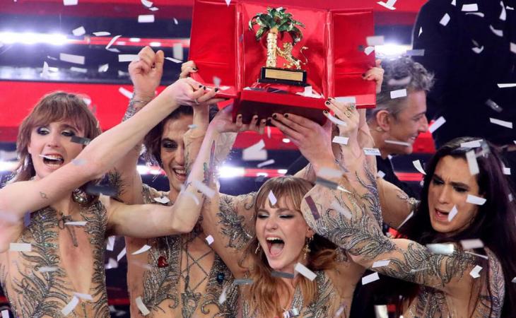 Los Maneskin suponen un cambio radical en Sanremo