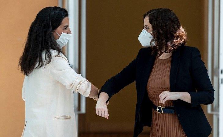 Rocío Monasterio e Isabel Díaz Ayuso siempre han exhibido buena relación durante la actual legislatura