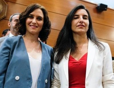 """VOX ofrece a Ayuso un gobierno de coalición y afirma que será un """"socio fiable"""""""