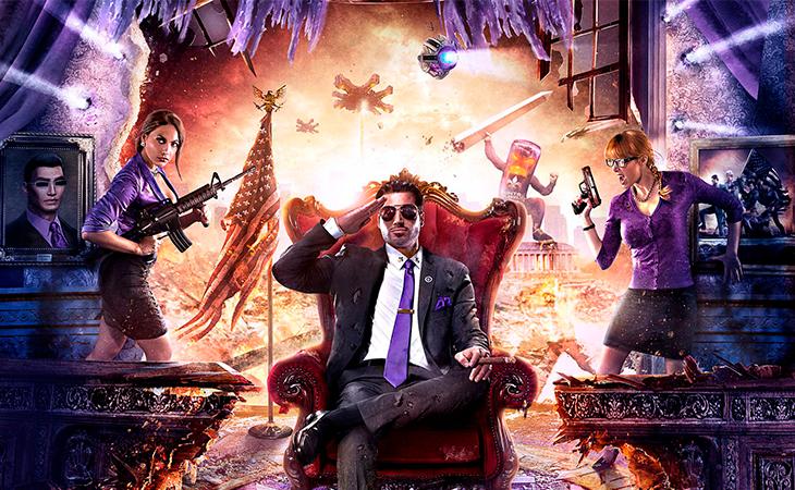 En 'Saints Row' serás el presidente de EEUU