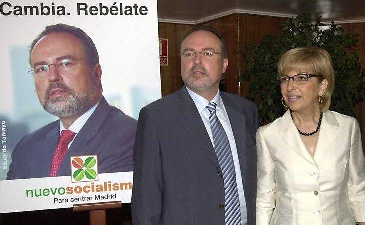 Eduardo Tamayo y María Teresa Sáez presentaron un nuevo partido: Nuevo Socialismo