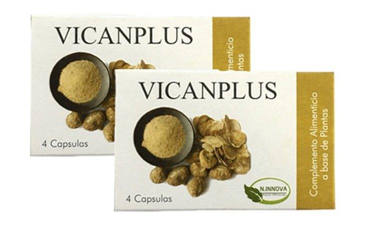 Se han descubierto componentes no etiquetados en las cápsulas de VICANPLUS