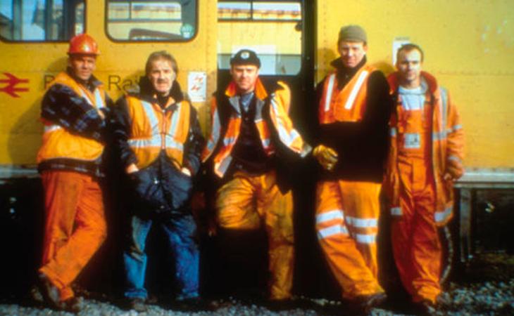 Frame de los protagonistas de la película