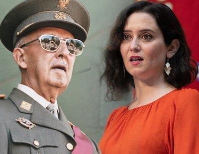 El presidente de la Fundación Nacional Francisco Franco muestra su admiración por Ayuso